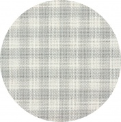 картинка канва murano-carre 32 ct 7663/7249 (в серо-белую клетку/checkered grey and white)