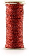"Нить металлик Kreinik Iron On 1/8"" Ribbon CR8-6130/03S Red"