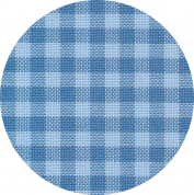 картинка канва murano-carre 32 ct 7663/5409 (в сине-голубую клетку/checkered blue)